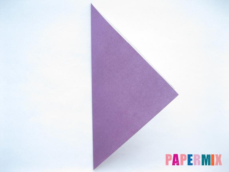 Как сделать баклажан из бумаги (оригами) своими руками - шаг 12