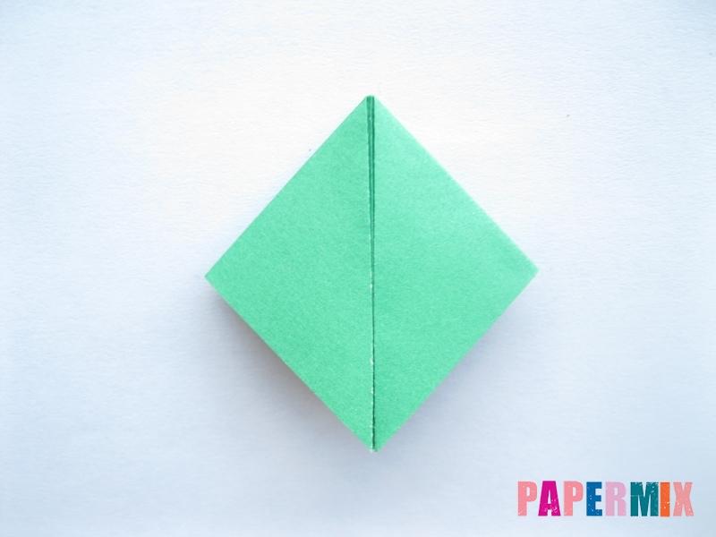 Как сделать баклажан из бумаги (оригами) своими руками - шаг 5