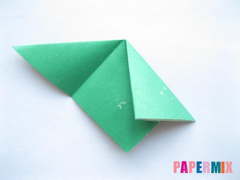 Как сделать баклажан из бумаги (оригами) своими руками - шаг 8