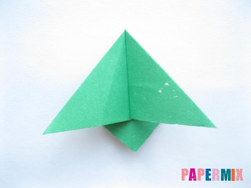 Как сделать баклажан из бумаги (оригами) своими руками - шаг 9