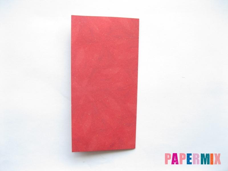 Как сделать конфету из бумаги (оригами) своими руками - шаг 1