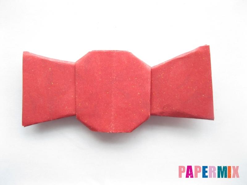 Как сделать конфету из бумаги (оригами) своими руками - шаг 11
