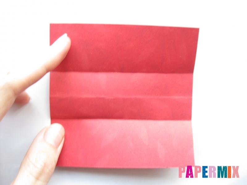 Как сделать конфету из бумаги (оригами) своими руками - шаг 3