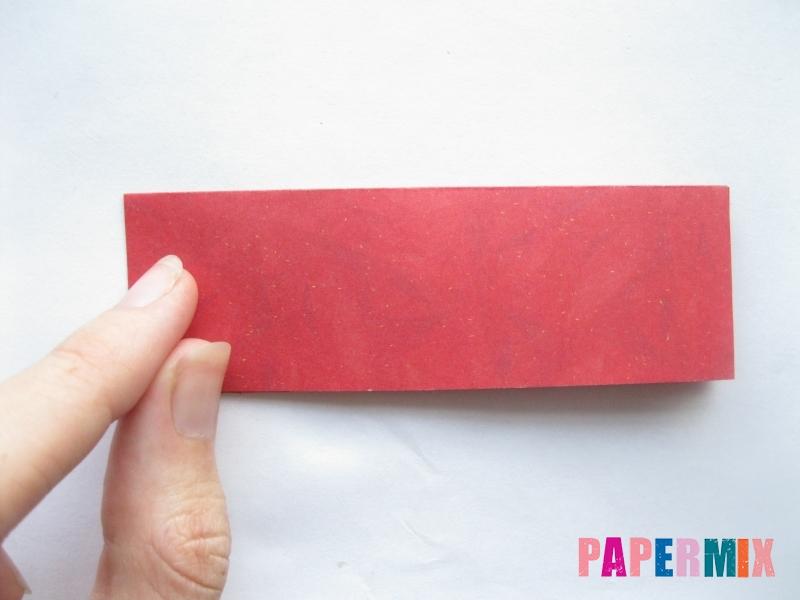 Как сделать конфету из бумаги (оригами) своими руками - шаг 5
