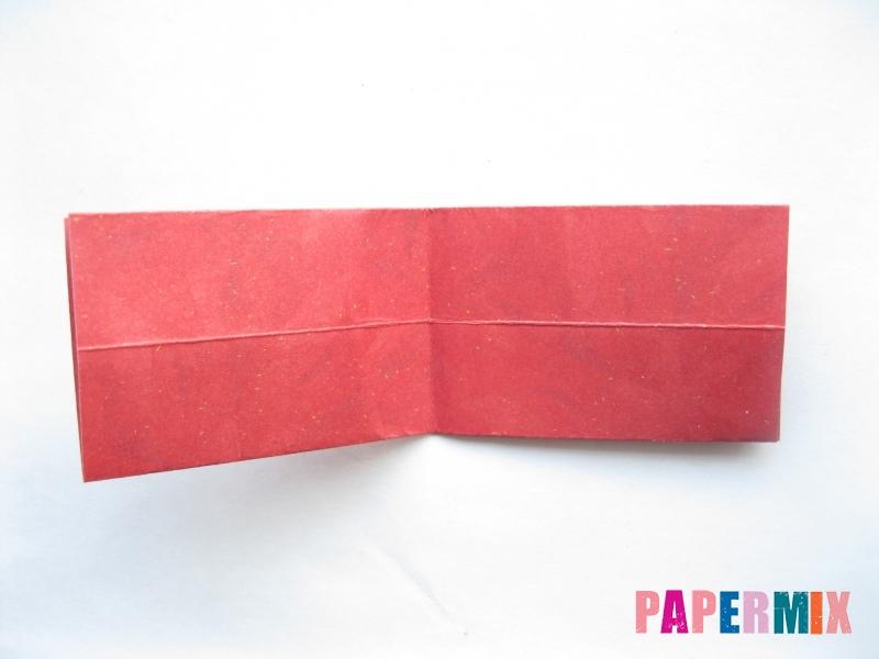Как сделать конфету из бумаги (оригами) своими руками - шаг 6