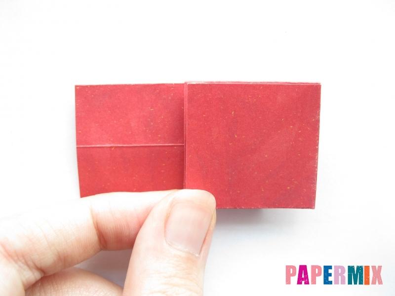 Как сделать конфету из бумаги (оригами) своими руками - шаг 7
