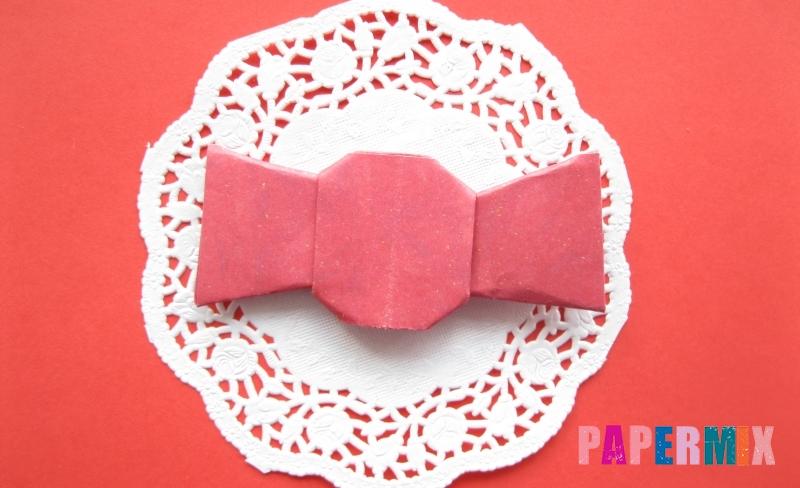 Как сделать конфету из бумаги в технике оригами своими руками