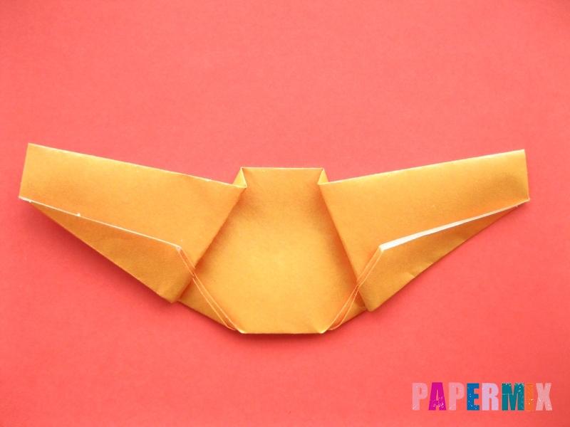 Как сделать круассан из бумаги (оригами) своими руками - шаг 7