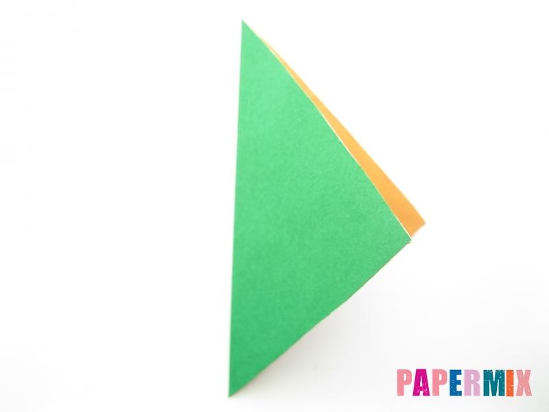 Как сделать кукурузу из бумаги (оригами) своими руками - шаг 1