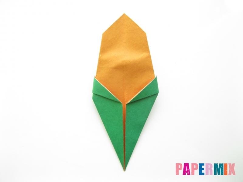 Как сделать кукурузу из бумаги (оригами) своими руками - шаг 6