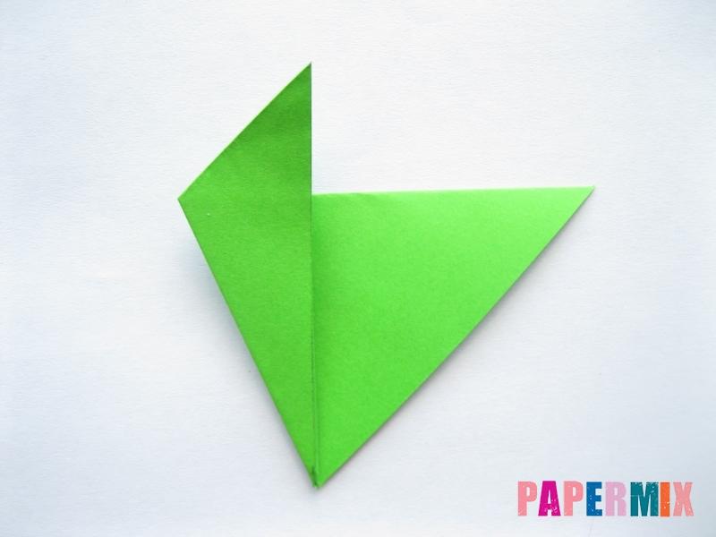 Как сделать морковку из бумаги (оригами) своими руками - шаг 14