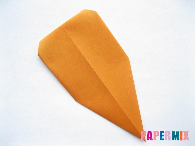 Как сделать морковку из бумаги (оригами) своими руками - шаг 8