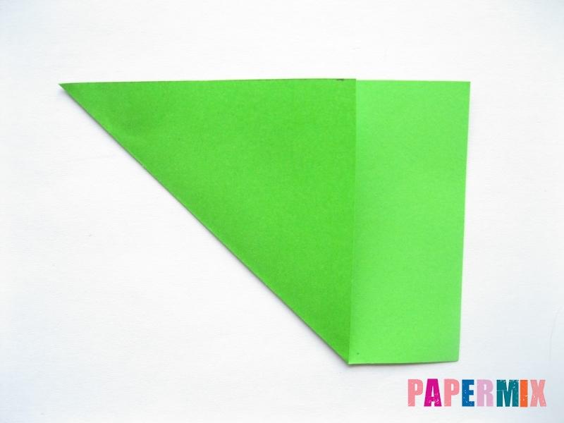 Как сделать морковку из бумаги (оригами) своими руками - шаг 9