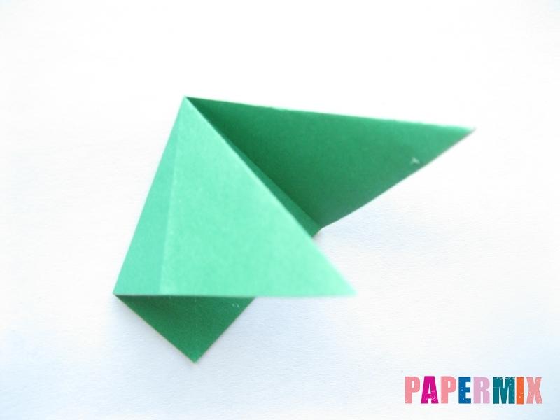 Как сделать помидор из бумаги (оригами) своими руками - шаг 10