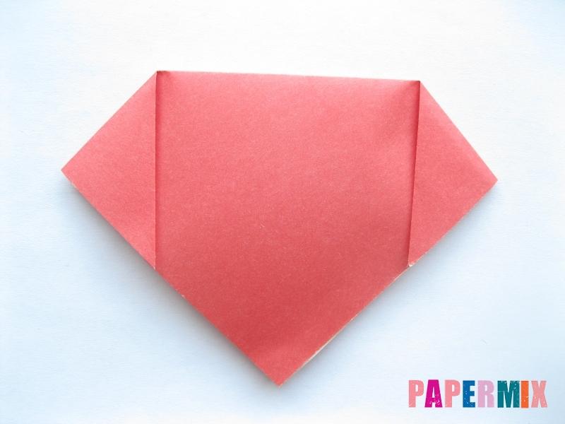 Как сделать помидор из бумаги (оригами) своими руками - шаг 2