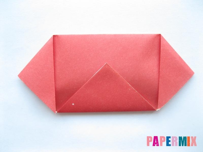 Как сделать помидор из бумаги (оригами) своими руками - шаг 3