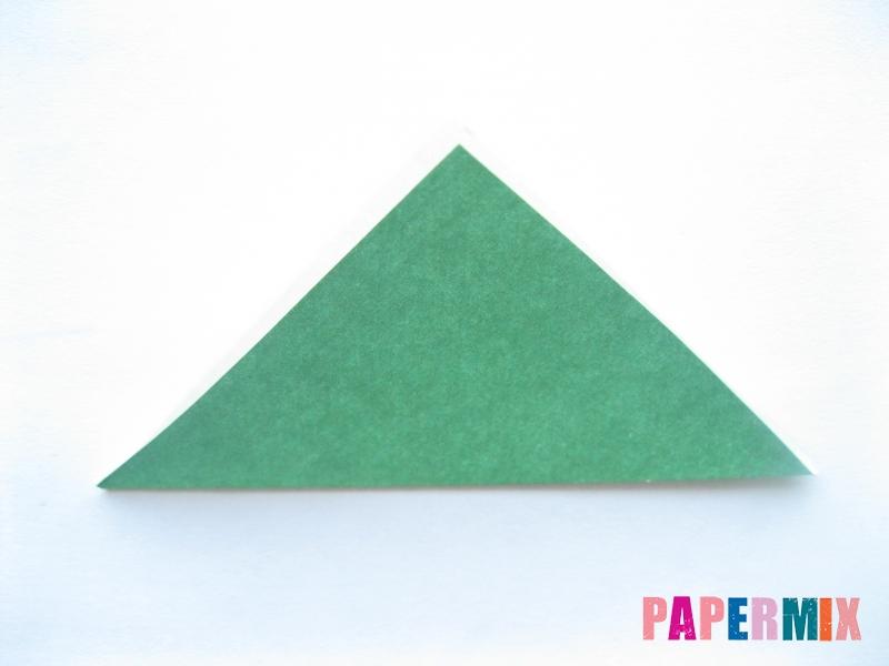 Как сделать помидор из бумаги (оригами) своими руками - шаг 6