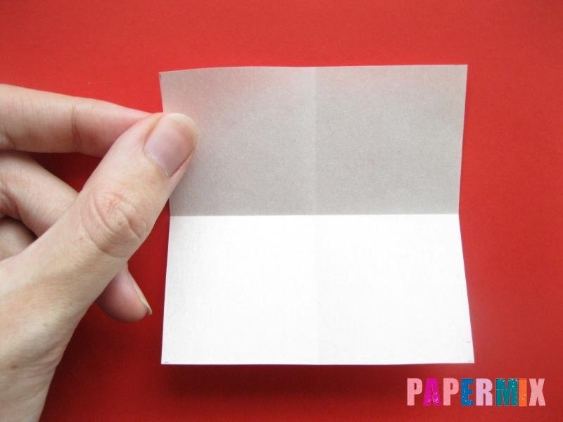 Как сделать пончик из бумаги (оригами) своими руками - шаг 1