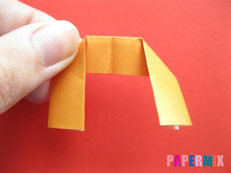 Как сделать пончик из бумаги (оригами) своими руками - шаг 5