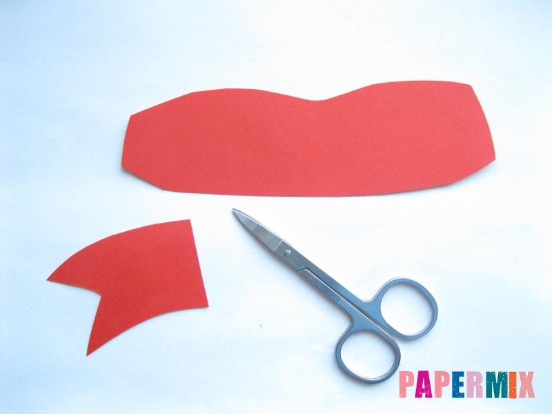 Как сделать маску черепашки ниндзя из бумаги поэтапно - шаг 4