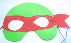 Как сделать маску ниндзя из бумаги своими руками