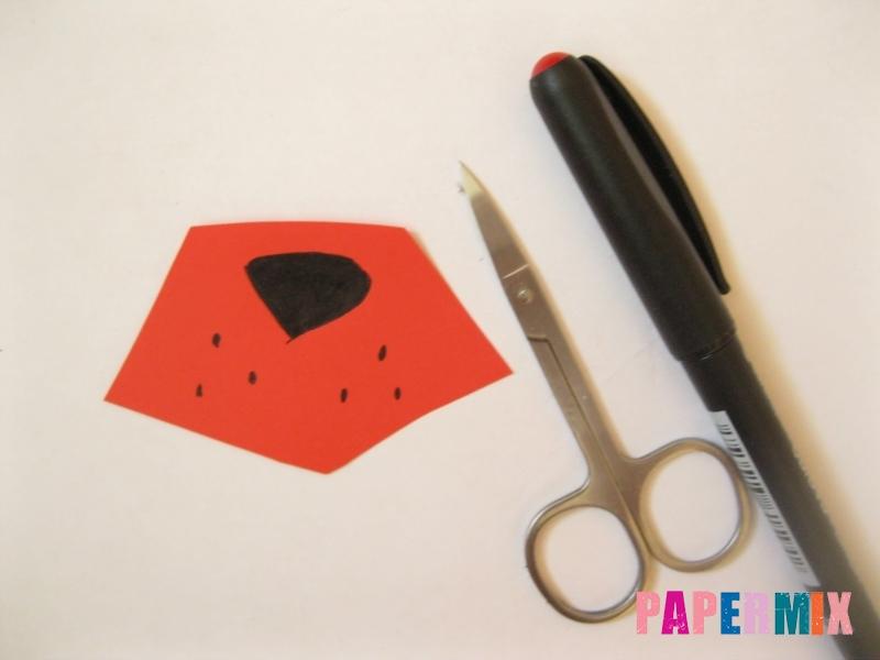 Как сделать маску Фокси из бумаги поэтапно - шаг 5