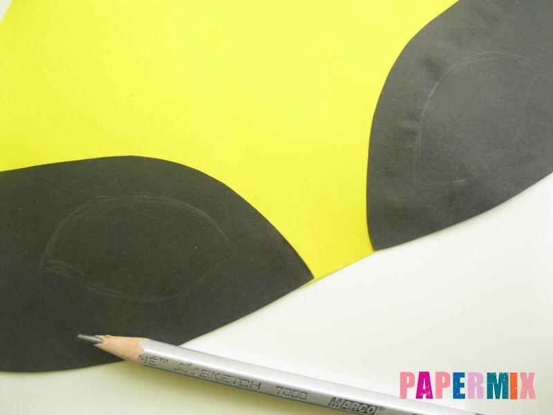 Как сделать маску Росомахи из бумаги своими руками - шаг 5