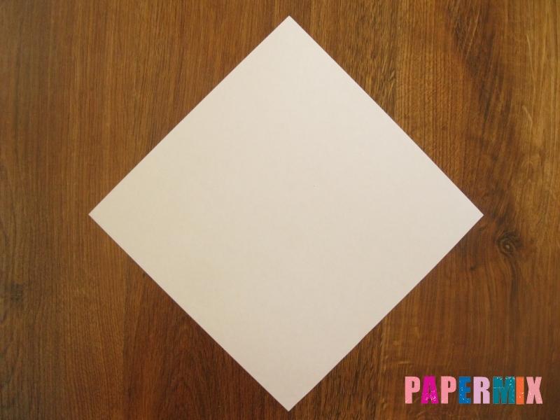 Как сделать маску волка из бумаги своими руками - шаг 1