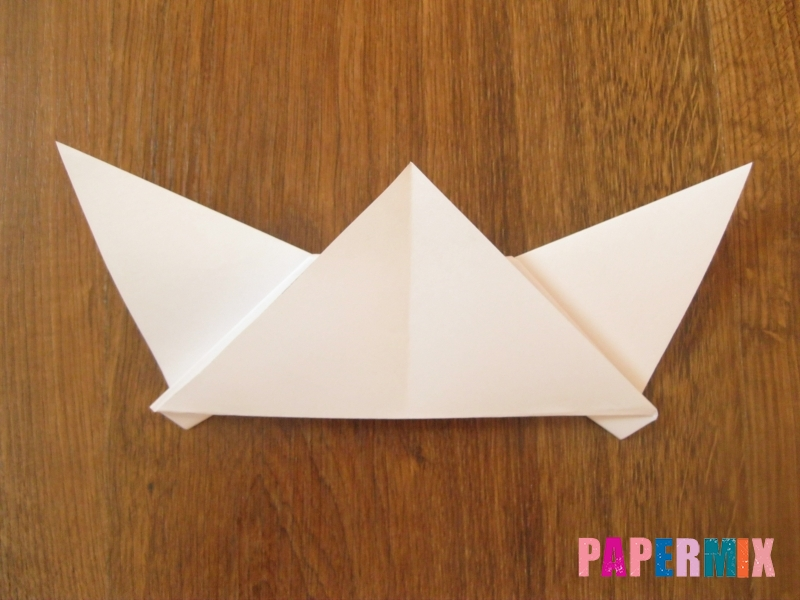 Как сделать маску волка из бумаги своими руками - шаг 10