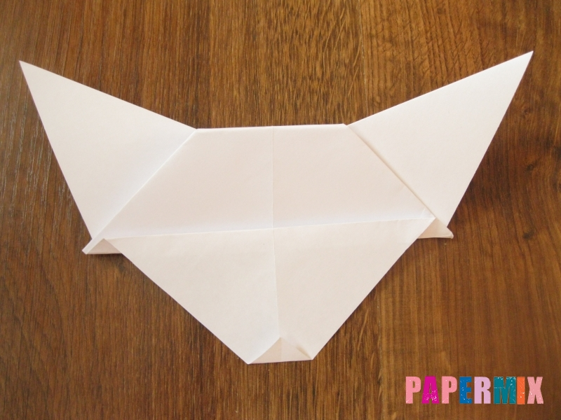 Как сделать маску волка из бумаги своими руками - шаг 13