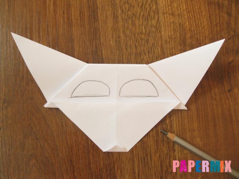 Как сделать маску волка из бумаги своими руками - шаг 14