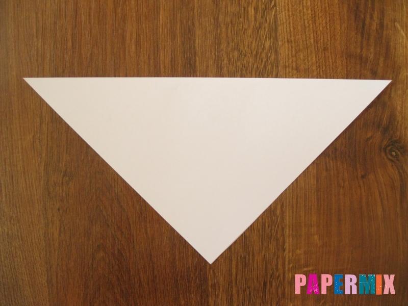 Как сделать маску волка из бумаги своими руками - шаг 2