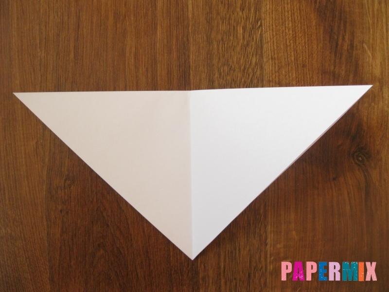 Как сделать маску волка из бумаги своими руками - шаг 4