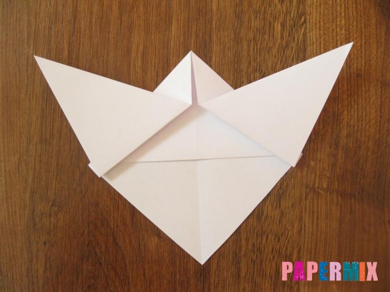 Как сделать маску волка из бумаги своими руками - шаг 7