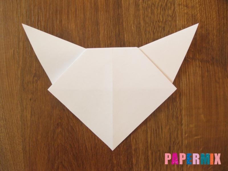 Как сделать маску волка из бумаги своими руками - шаг 9