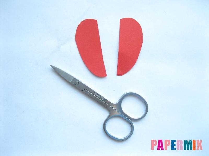 Как сделать маску железного человека из бумаги поэтапно - шаг 2