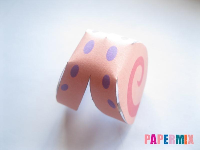 Как сделать объемного Гери из бумага по шаблону поэтапно - шаг 3
