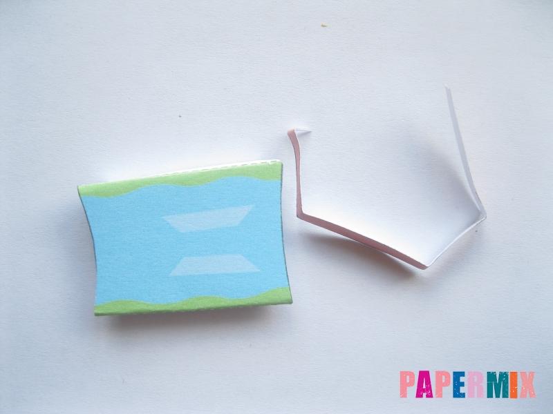 Как сделать объемного Гери из бумага по шаблону поэтапно - шаг 5