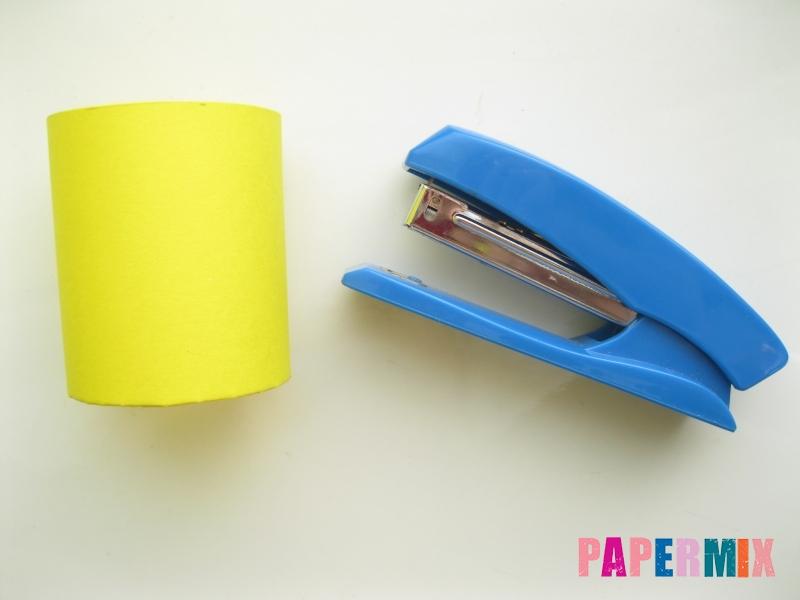 Как сделать объемного Лосяша из бумаги своими руками - шаг 2