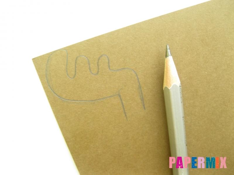 Как сделать объемного Лосяша из бумаги своими руками - шаг 3