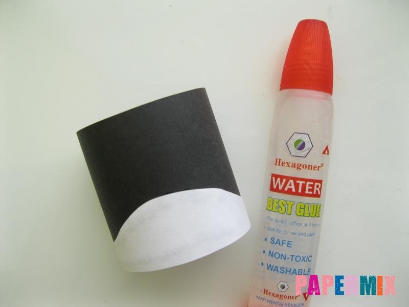 Как сделать объемного Пина из бумаги своими руками - шаг 3
