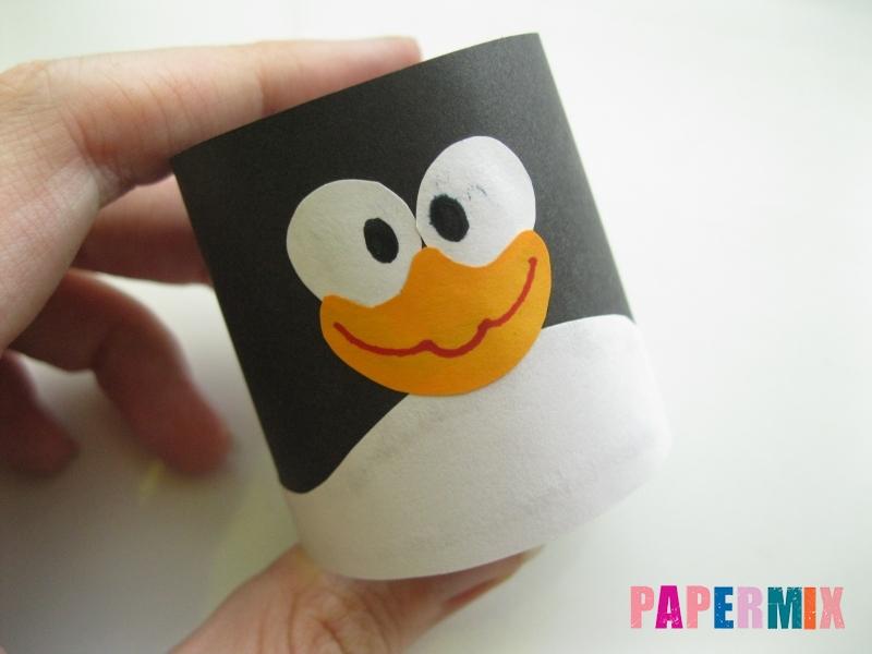 Как сделать объемного Пина из бумаги своими руками - шаг 5