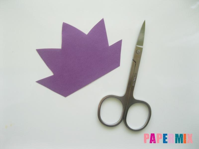 Как сделать объемного смешарика Ежика из бумаги своими руками - шаг 4