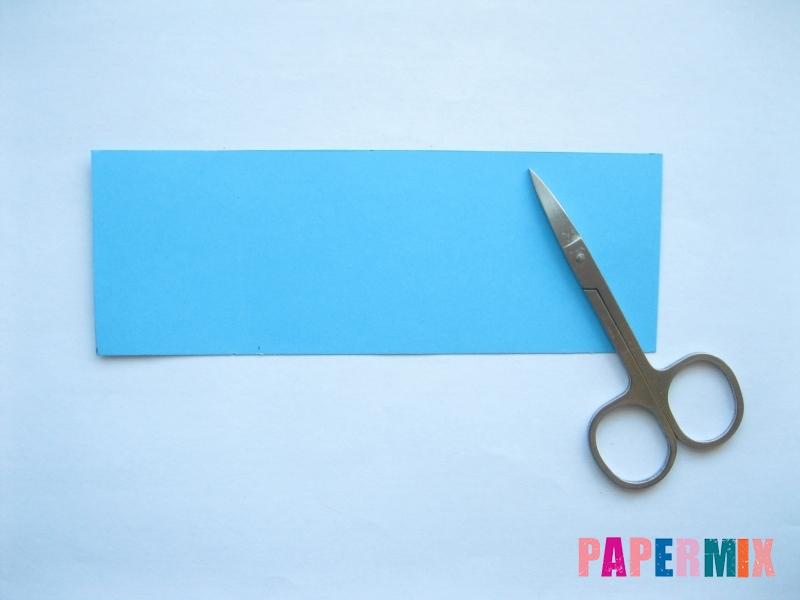 Как сделать объемного смешарика Кар-Карыча из бумаги - шаг 1