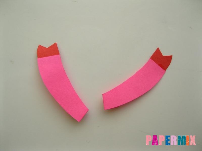 Как сделать объемную Нюшу из бумаги своими руками - шаг 3