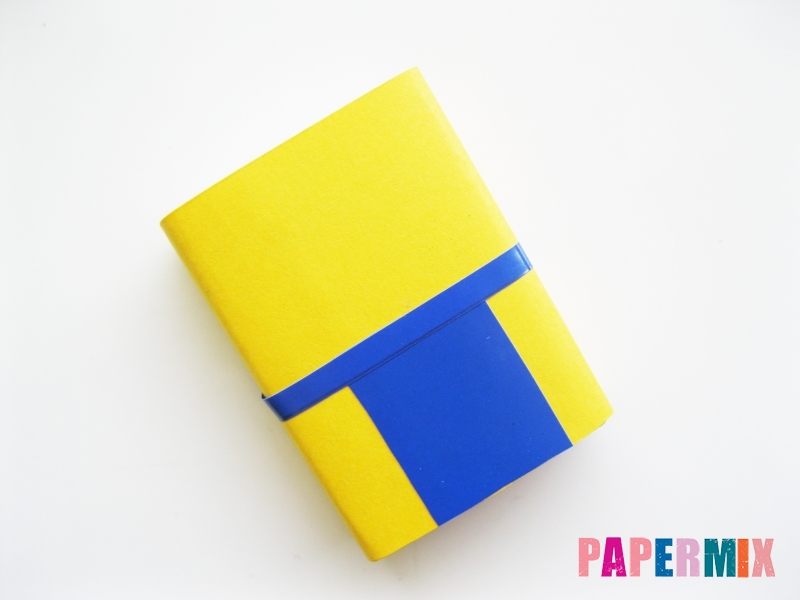 Миньон Боб из спичечного коробка и бумаги своими руками - шаг 5
