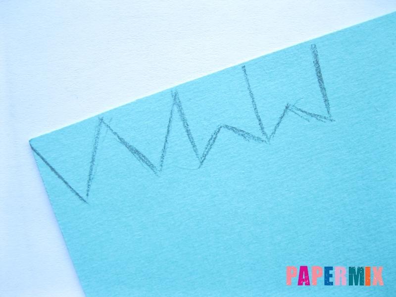 Бумажная гирлянда из флажков своими руками поэтапно - шаг 1