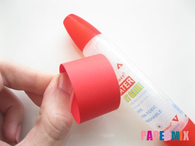 Как сделать объемного петуха из бумаги своими руками - шаг 2