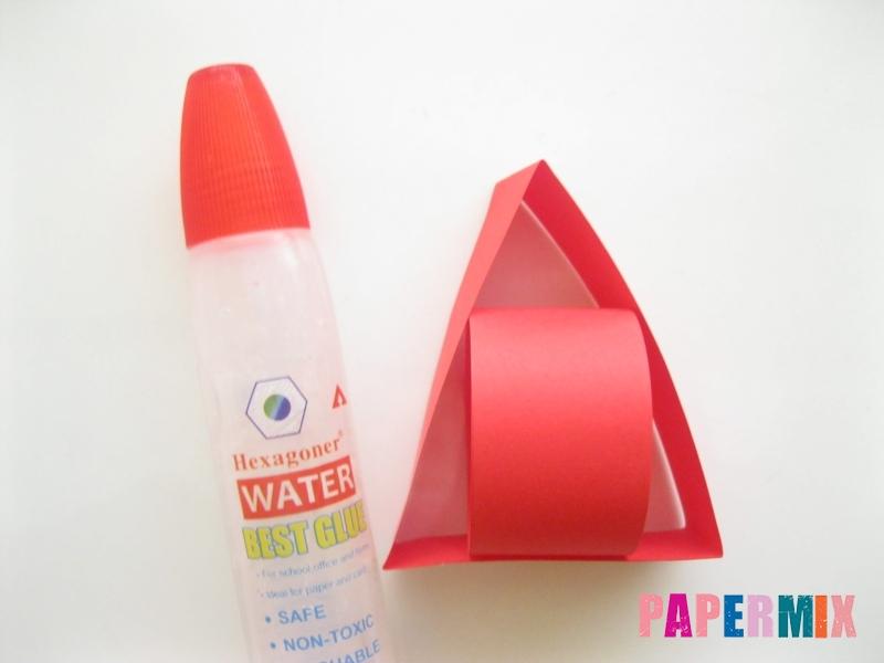Как сделать объемного петуха из бумаги своими руками - шаг 5