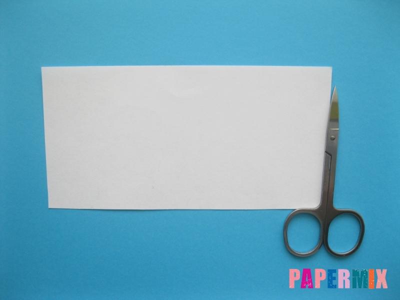 Как сделать объёмного снеговика из бумаги своими руками - шаг 2